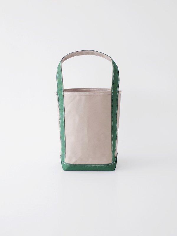 TEMBEA Baguette Tote Small - Gray / Green
