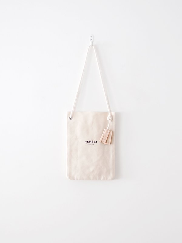 TEMBEA Game Pouch Logo - Natural