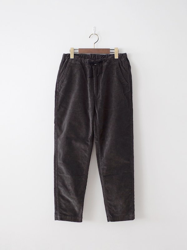 orSlow New Yorker Stretch Corduroy - Charcoal Gray