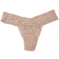 BASIC* Signature Lace Low Rise Thong:Taupe トープ