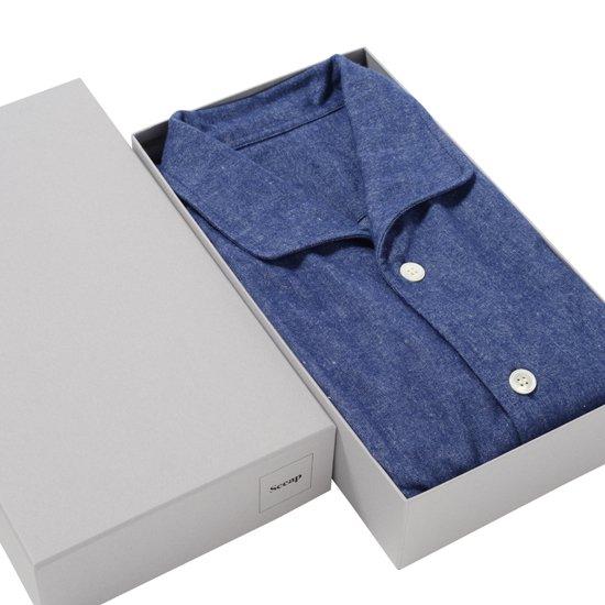 ブルーネルナイトシャツ