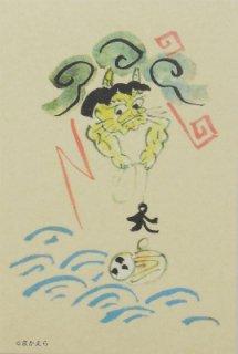 オリジナルポストカード 大津絵b