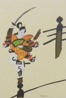 オリジナルポストカード 大津絵c