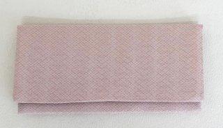 本丹後紋ちりめん長財布(ファスナー付き小銭いれ・カード入れ付き) アイスピンク 花菱文染め 松地紋