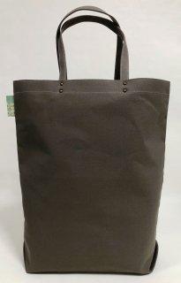 Eco bag「kaera armor」 エコバッグ仕様の大きめバッグ グレー地 提灯どくろ文