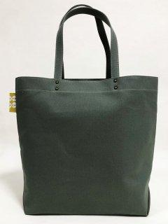 Eco bag「kaera suit」 エコバッグ仕様のレギュラーサイズバッグ わさび色 提灯どくろ文
