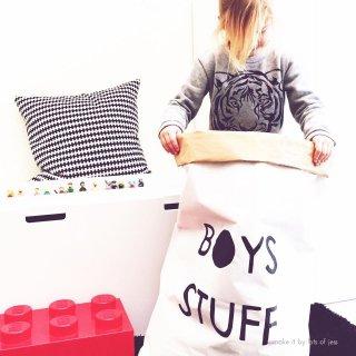 SALE // BOYS STUFF paper bag