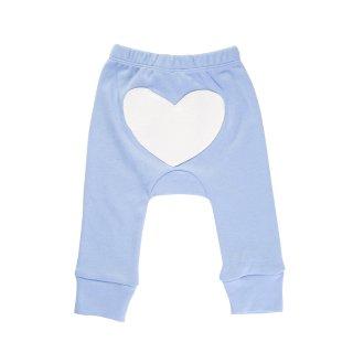 30% OFF Heart Pants Color Blue