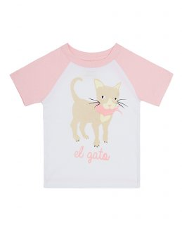 30% OFF<br>T-Shirt Cat<br>キャット柄-PINK