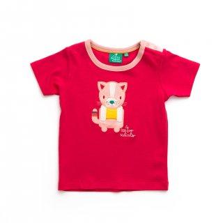 50% OFF Rose Pink Cat Short Sleeve Tee