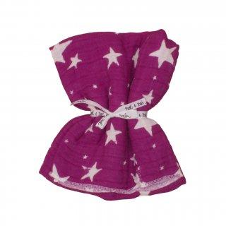 70% OFF SALE // Swaddle L- Purple Stars