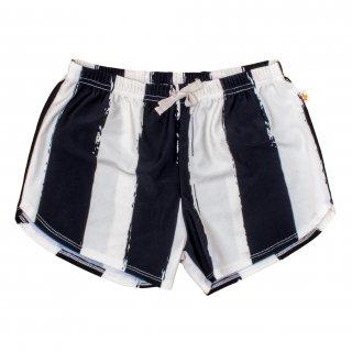 70% OFF SALE // Swim Short Black Stripes (Last1)