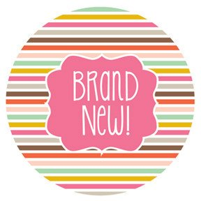 Brand new Baby Sticker ニューボーンベビーステッカー Little Fashonista