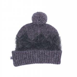 75% OFF SALE - Kids Knit Beanie /// Gray