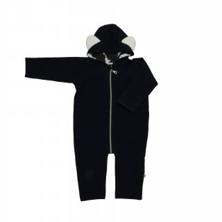 75% OFF SALE - Baby Jumpsuit /// Navy