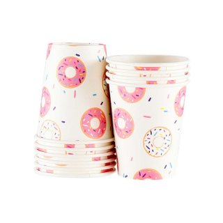 Donut Paper Cups set of10 (Last 1)