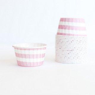 Treat Cups-Pink Stripes set of 20 (Last 1)
