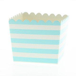 Favor Box-Blue Stripes set of 6