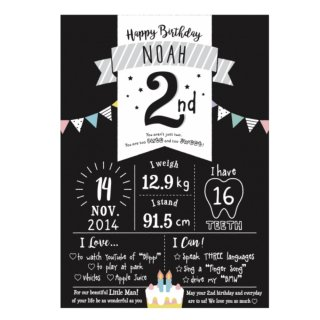 2nd Birthday Boad<br>Original