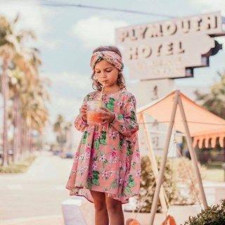 50% off SALE! Felizita Dress Sienna Flamingo