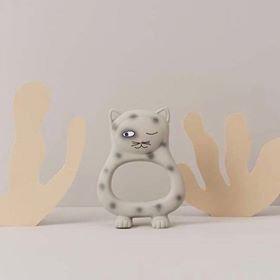 Benny Cat Baby Teether Grey (Last1)