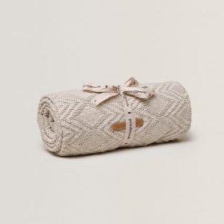30% OFF // Ollie Sand Cotton Blanket