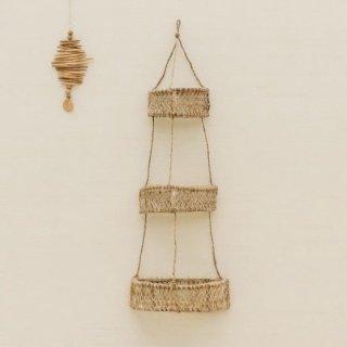 30% OFF // Jonote Half Circle Hanging Basket