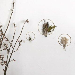 Dried flower vase ◯ /// M size