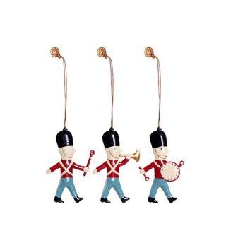 Christmas Ornament Box set of 3 /// Guard