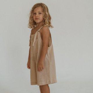 Short Marlow Overalls /// Peachy