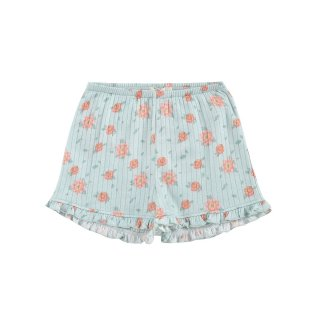Shorts Anchi // Vintage Blue Flowers