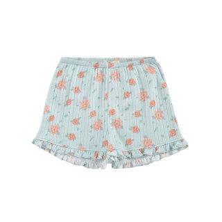 50% OFF SALE // Shorts Anchi // Vintage Blue Flowers