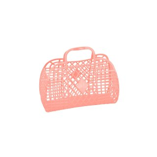 Retro Basket Small // Peach