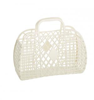 Retro Basket Large // Cream