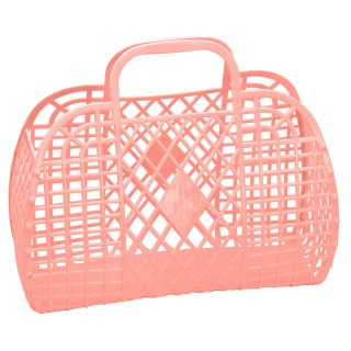 Retro Basket Large // Peach