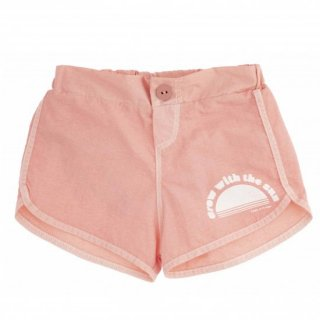SWIM SHORTS KID WITH PRINT // PINK