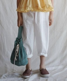 30% OFF SALE // Casual Pants // White