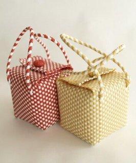 Square Woven Bag