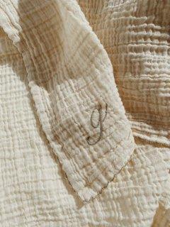 ALPHABET MUSLIN CLOTHS // NATURE