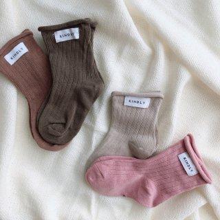 Socks assort // 4 pairs set // little lady