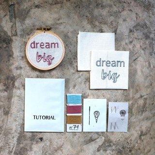 Hoop Kit Quote // dream big