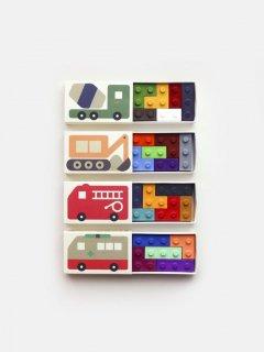 Pocket Crayon Blocks // Cars