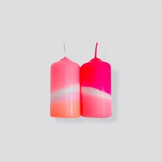 Dip Dye Neon // Flamingo Feathers