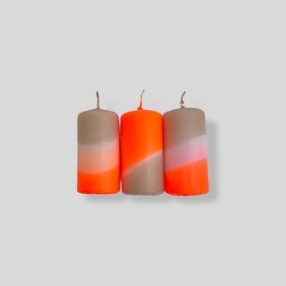 Dip Dye Neon // Papaya Pebbles