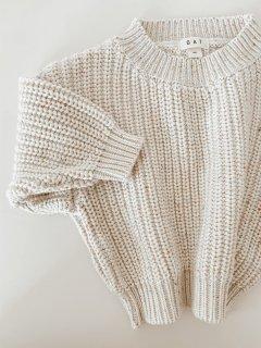 Chunky Sweater // Sprinkle Knit