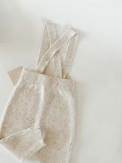 Sprinkle Knit Suspender Pants
