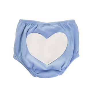 70% OFF SALE // Heart Bloomers // Color Blue