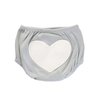 30% OFF Heart Bloomers Color Grey