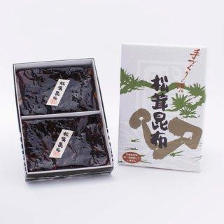松茸昆布 120g × 2(紙箱)