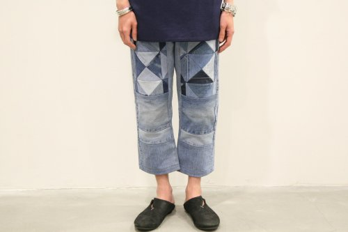 <img class='new_mark_img1' src='https://img.shop-pro.jp/img/new/icons47.gif' style='border:none;display:inline;margin:0px;padding:0px;width:auto;' />Children of the discordance / OLD PATCH DENIM PANTS(BLUE)